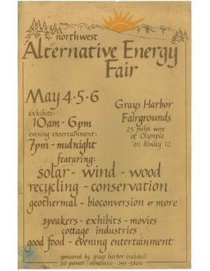 Alternative Energy Fair Poster